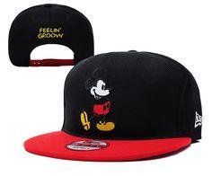 9e78e8f41f7 DISNEY Feelin Groovy New Era 9FIFTY SNAPBACKS HATS Black