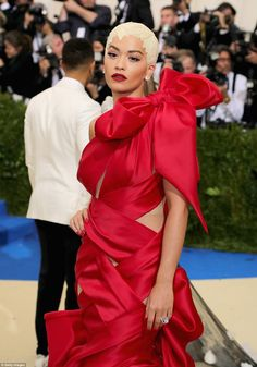 Celebrity Looks & p; Hair Ideas From The Met Gala 2017 - Hairstyles Style Hair #hairstyles #amp #Celebrity #Gala