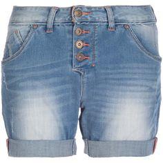 Hübsche JeansShorts mit auffälligen Knöpfen und cooler Waschung ab 59,95 € <3 Hier kaufen:  http://stylefru.it/s95183 #Hose #Shorts #denim