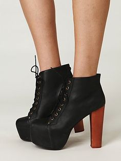 Lita by Jeffrey Campbell for $120. I'm more and more in love with these shoes..