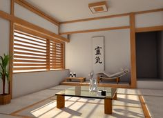 Minimalist Japanese Interior Design ~ http://lanewstalk.com/japanese-interior-design-is-in-the-house/