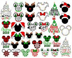 Check out our mickey mouse svg selection for the very best in unique or custom, handmade pieces from our digital shops. Disney Christmas Crafts, Disney World Christmas, Mickey Mouse Christmas, Disney Ornaments, Christmas Vinyl, Disney Crafts, Disney Fun, Grinch Christmas, Mugs
