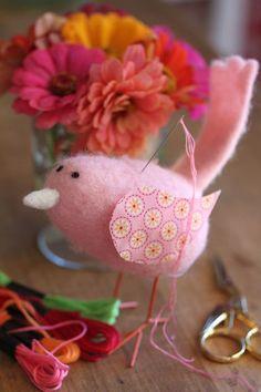 pincushion bird