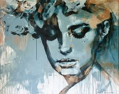 """peace of mind"" acrylic on canvas Peace Of Mind, Fine Art, Canvas, Artwork, Painting, Printmaking, Graphics, Random Stuff, Watercolor"