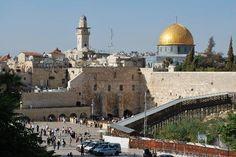 #JERUSALEM: Muro de las Lamentaciones y Cúpula de la Roca