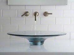 Vessels glass bathroom sink - Lavinia - Kohler