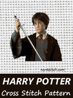 Harry Potter Cross Stitch Pattern - nerdstitch.com