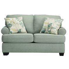 Ashley Zia Kiwi Light Green Sofa Set Simple Add Some
