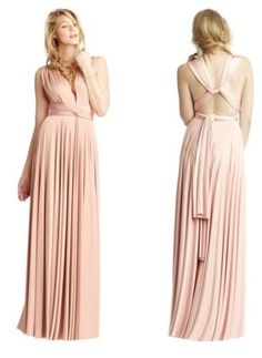 New-Elegant-Bridesmaid-Dress-Over-15-Ways-to-Wrap-Formal-Evening-Gown-Size-6-16