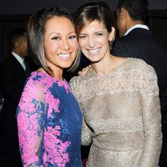 CNN Correspondent Alina Cho and Glamour's Cindi Leive at our Awards Ceremony