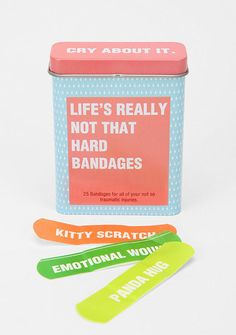 get real #packaging #bandages