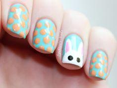 Spektor's Nails: Easter Bunny & Polka Dots