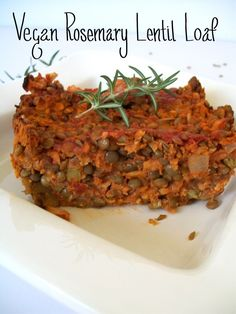 41 Delicious Vegan Thanksgiving Recipes. Made the pictured recipe Rosemary Lentil Loaf.  Paired it with a salad.  Great way to change up a dull lunch.