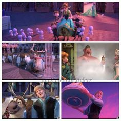 Stills from the new Frozen Fever trailer.