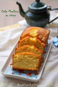 Lemon crème fraîche cake · Delicious to the palate - Lemon crème fraîche cake · Delicious to the palate - Homemade Cake Recipes, Pound Cake Recipes, Cheesecake Recipes, Dessert Recipes, Creme Fraiche, Easy Summer Desserts, Cake Recipes From Scratch, Savoury Cake, Christmas Desserts