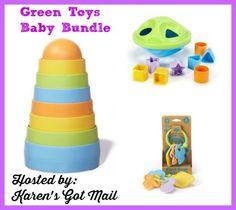 Green Toys #Baby BundlePrize Package #Giveaway {ends 5/25} | Dorky's Deals
