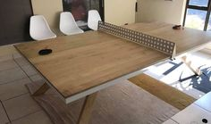 Custom-made boardroom ping pong table Bespoke Furniture, Ping Pong Table, Dining Table, Canning, Home Decor, Custom Furniture, Homemade Home Decor, Diner Table, Dinning Table Set