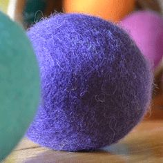 Save time and money using wool dryer balls!