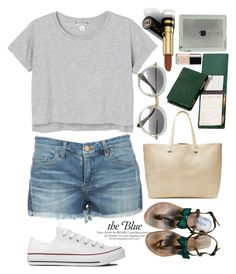 """""""Sport Style"""" by grinevagh ❤ liked on Polyvore featuring Miu Miu, Royce Leather, Monki, Converse, Tucano, Victoria Beckham, MELLOW YELLOW, Gucci and Chanel"""