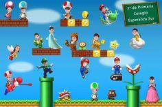 Orla Escolar Super Mario Bros. Fotomontajes Infantiles.