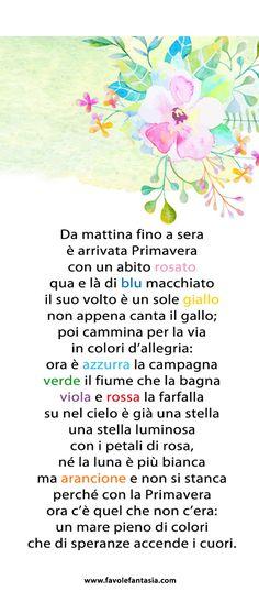 Italian Vocabulary, Vintage School, Learning Italian, Reading Material, Nursery Rhymes, Back To School, Homeschool, Crafts For Kids, Thankful