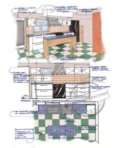 Sketch Note, Floor Plans, Instagram, Students, Food, Architecture Sketches, Houses, Interior Design, Earrings
