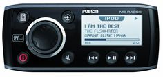 Fusion MS-RA205KTSD Combo Pack with MS-RA205 Head Unit, MS-EL602 Speaker and MS-DKIPUSB Dock