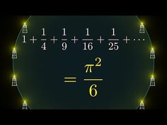 Why is pi here? And why is it squared? A geometric answer to the Basel problem - YouTube