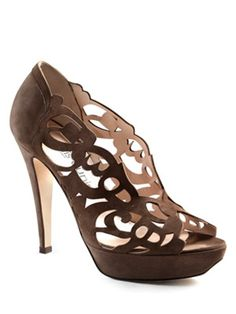 Manolo says, these calligraphically-inspired platform pumps from the Jordanian designer Aennis Eunis are indeed both super fantastic and wonderfully original.