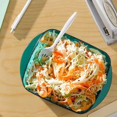 Crisp Chickpea Slaw Recipe - Health Mobile