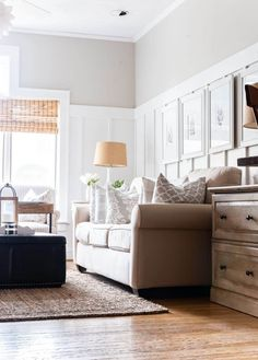 Sherwin Williams Agreeable Gray, Sherwin Williams Gray, Living Room White, Rugs In Living Room, Living Room Decor, Dining Room, Best Greige Paint Color, Grey Paint, Neutral Paint