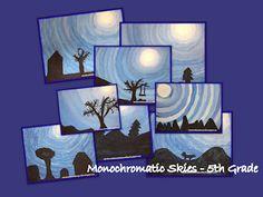 Monochromatic Skies