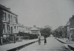 North Street (now Victoria Avenue) Southend. Looking towards the park.