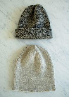 the boyfriend hat - a free purl bee pattern