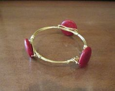Wired Bangle Bracelet Handmade bangle by PatricianCreations, $18.00