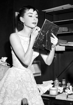 Hepburn is always a classic