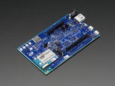 Intel® Edison Kit w/ Arduino Breakout Board Arduino, Intel Edison, Electronic Circuit Design, Technology Addiction, Iot Projects, Pc Components, Diy Electronics, Electronics Projects, Wearable Technology