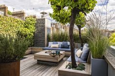 Garden & Landscape Design London by Adolfo Harrison Gardens | NOTTING HILL ROOF GARDEN