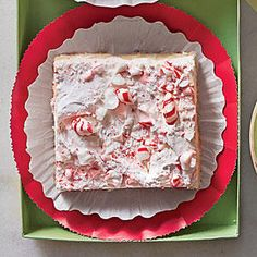 Peppermint Divinity Bars - Festive Christmas Cookie Recipes - Southernliving. Make this recipe all the way through without stopping, spreading the warm divinity onto a still-warm cookie base. If the divinity is too cool, it will tear the cookie base as you spread it.Recipe: Peppermint Divinity Bars