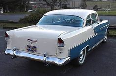 Electronics, Cars, Fashion, Collectibles, Coupons and 1955 Chevy Bel Air, 1955 Chevrolet, Chevrolet Bel Air, Chevrolet Impala, American Auto, Classy Cars, Sweet Cars, Us Cars, Vintage Cars