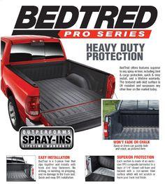 BedRug BedTred Truck Bedliner   Free Shipping!