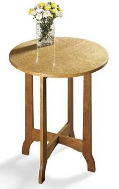 31-MD-00198 - Occasional Table Woodworking Plan