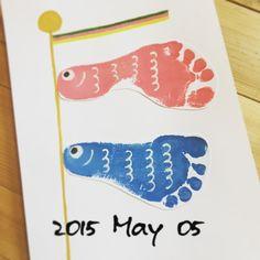 子どもの成長が記念に残せる「足型アート」が大人気♡超かわいいアイデア10選