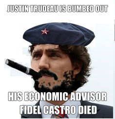 Justin Trudeau is bumbed out #canpoli