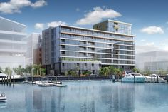 Designed by Athfield Architects, 123 Halsey combines a waterfront location with…