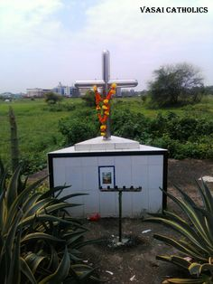 Cross at Bhabola- Bangli Road. Vasai West.