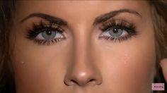Katherine Webb, eye makeup!