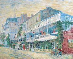 Van Gogh, The Restaurant de la Sirène at Asnières, Summer 1887. Oil on canvas, 54.5 x 65.5 cm. Musée d'Orsay, Paris