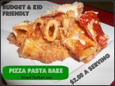 Pizza Pasta Bake! :)