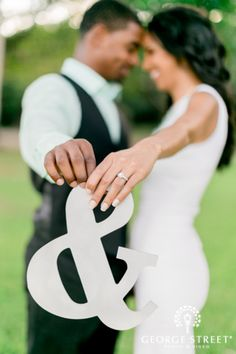 You and me...such a cute prop idea! | George Street Photo Video